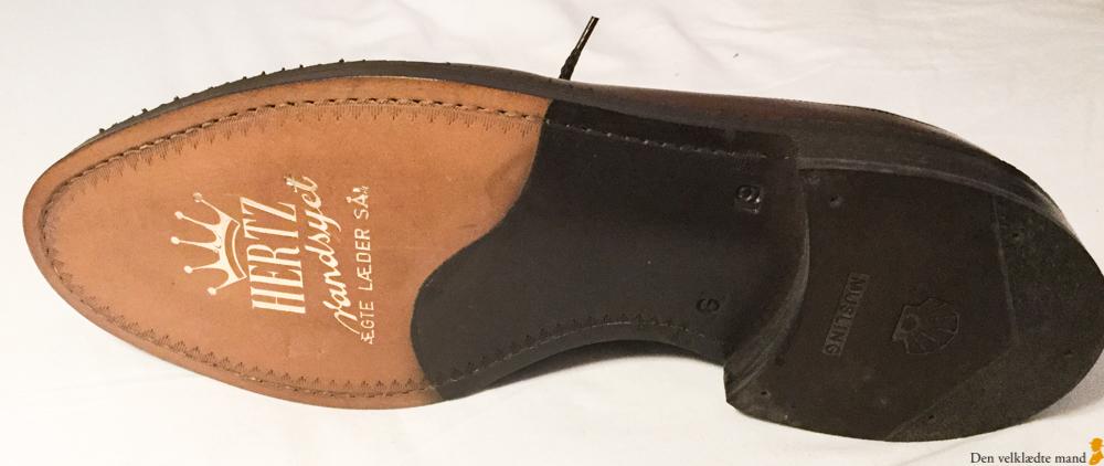 vintage-sko fra hertz