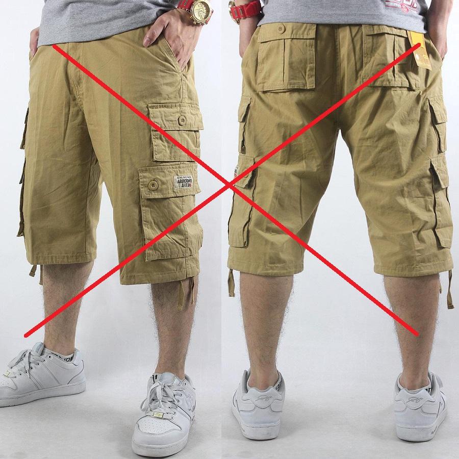 ikke smart sommertøj cargo shorts