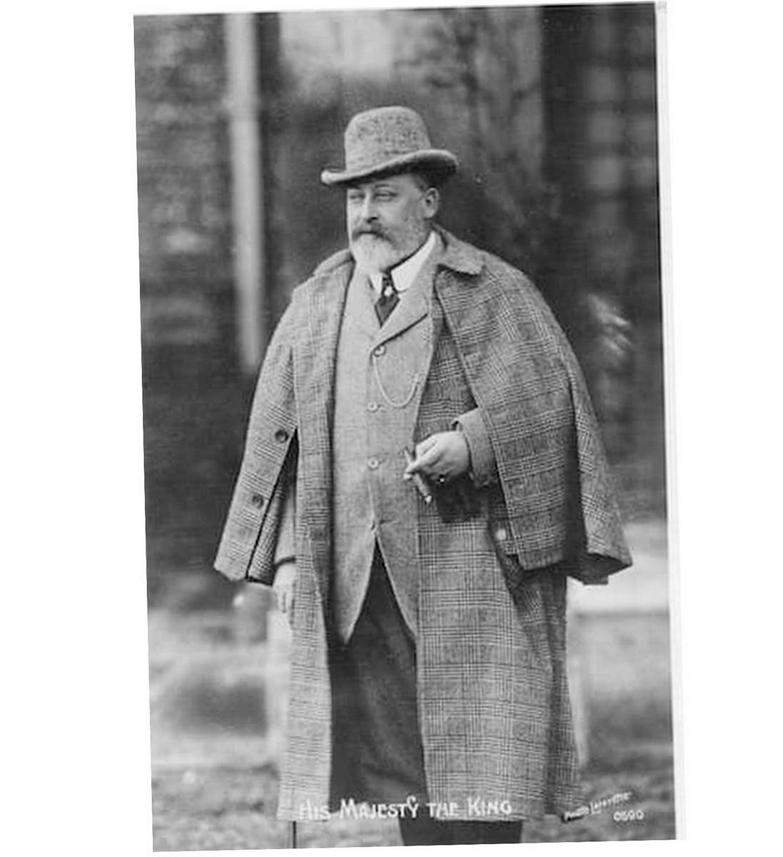 tweed vest edward konge
