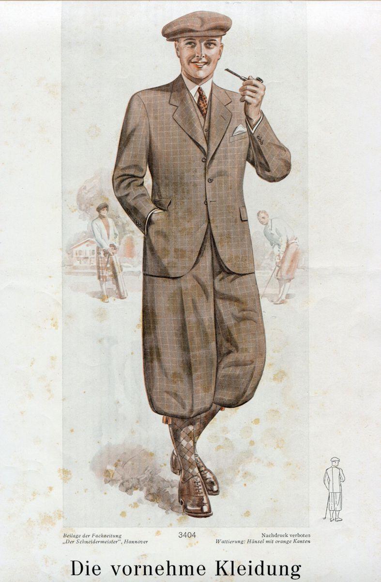 plusfours vest jakkesæt