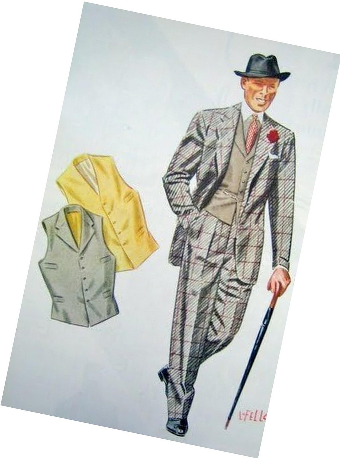 jakkesæt med selvstændig vest