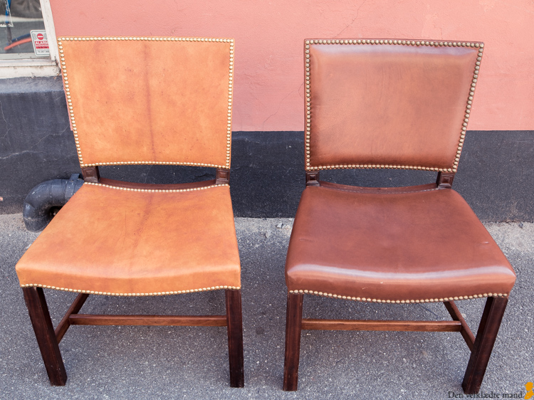 kaare klint instandsatte barcelonastole og rød stol