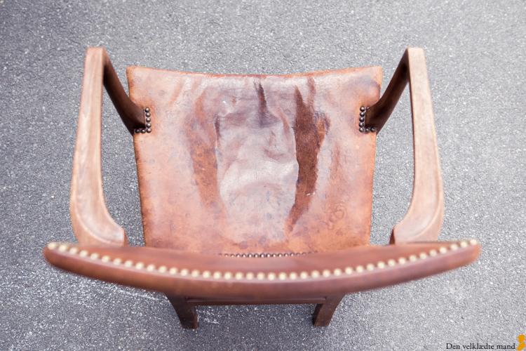 original barcelonastol og den røde stol fra kaare klint