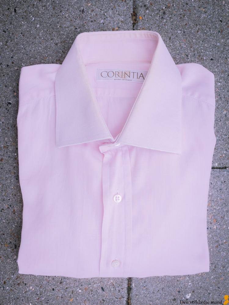 klassiske skjorter til mænd - lyserød, business