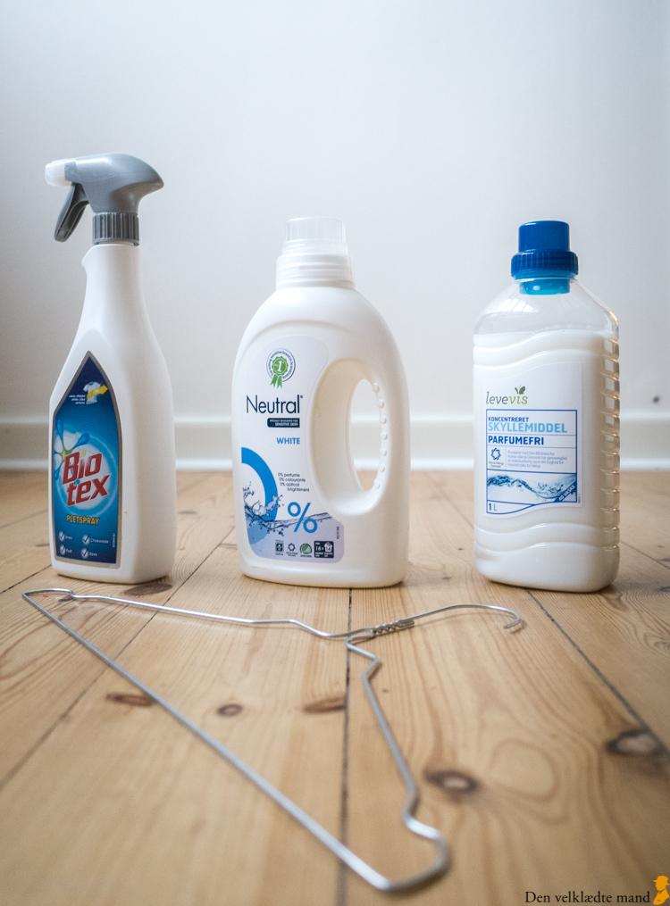 Vask skjorter rigtigt i vaskemaskinen vaskemidler