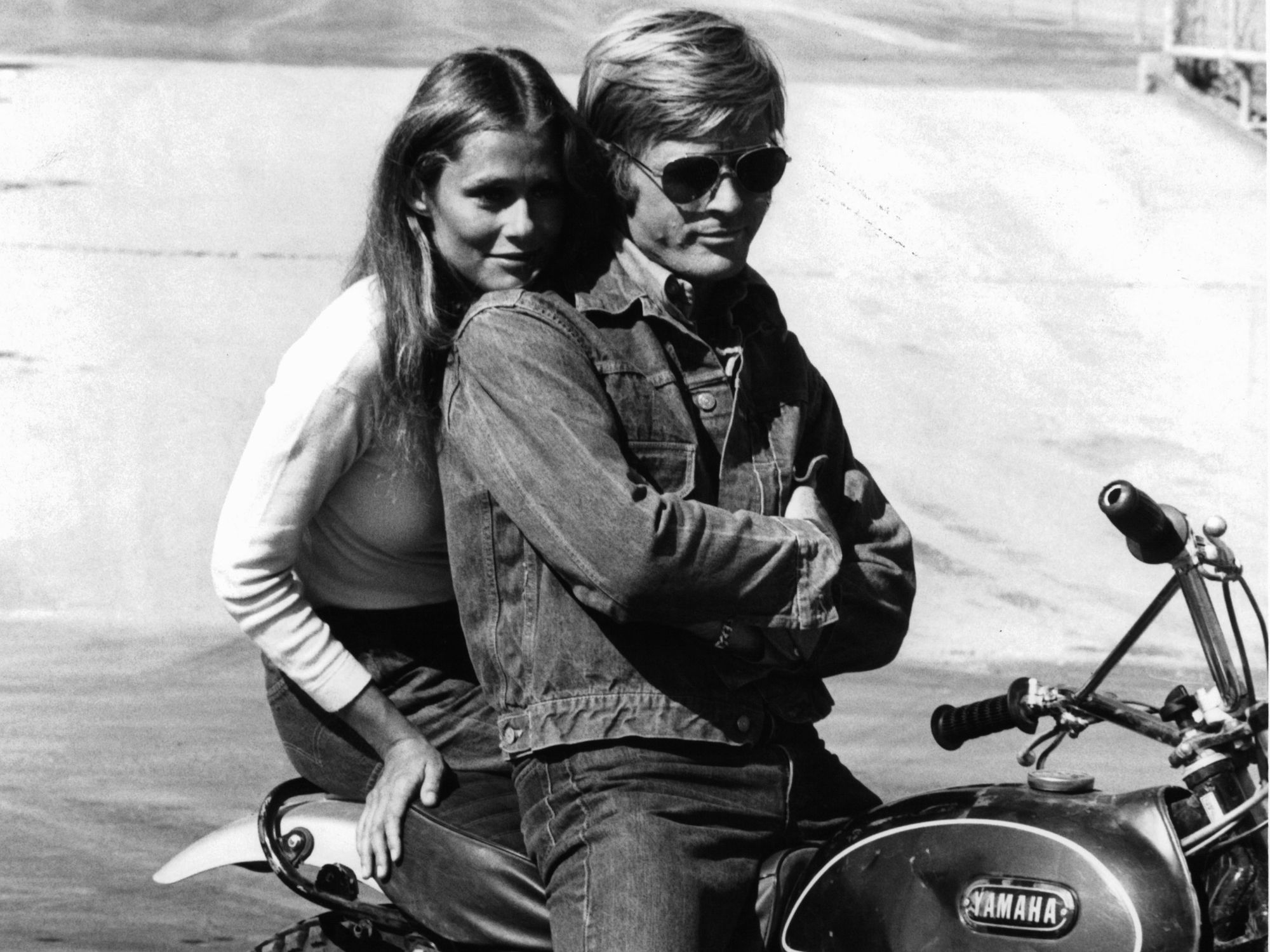 double denim jeans denimjakke robert redford