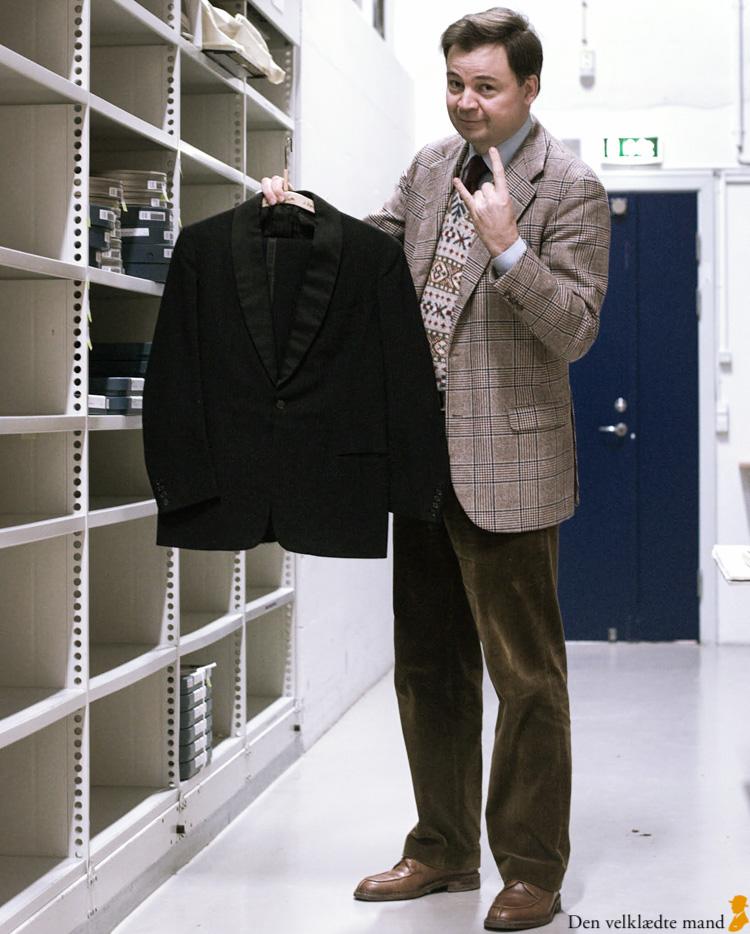 den velklædte mand med dreyers smoking-jakke