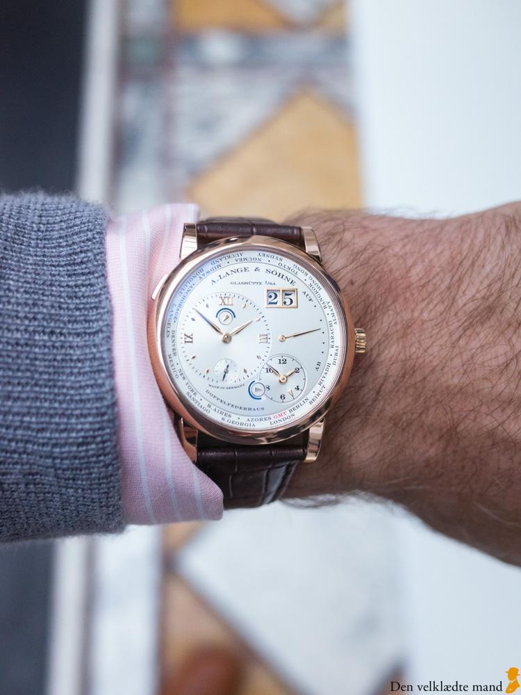 Eksklusive ure A. Lange & Söhne's Lange 1