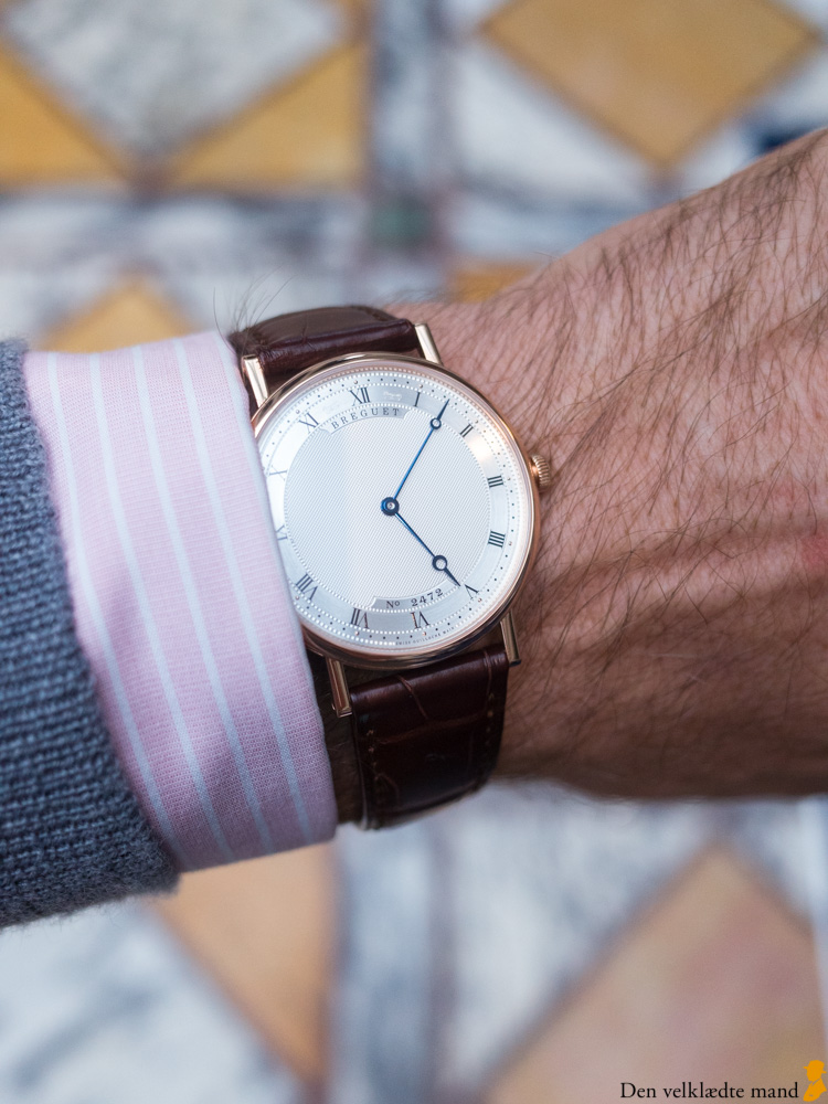 eksklusiv ure fra Breguet
