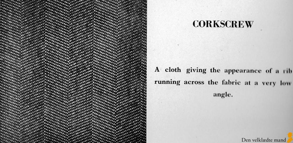 stof til jakkesæt corkscrew