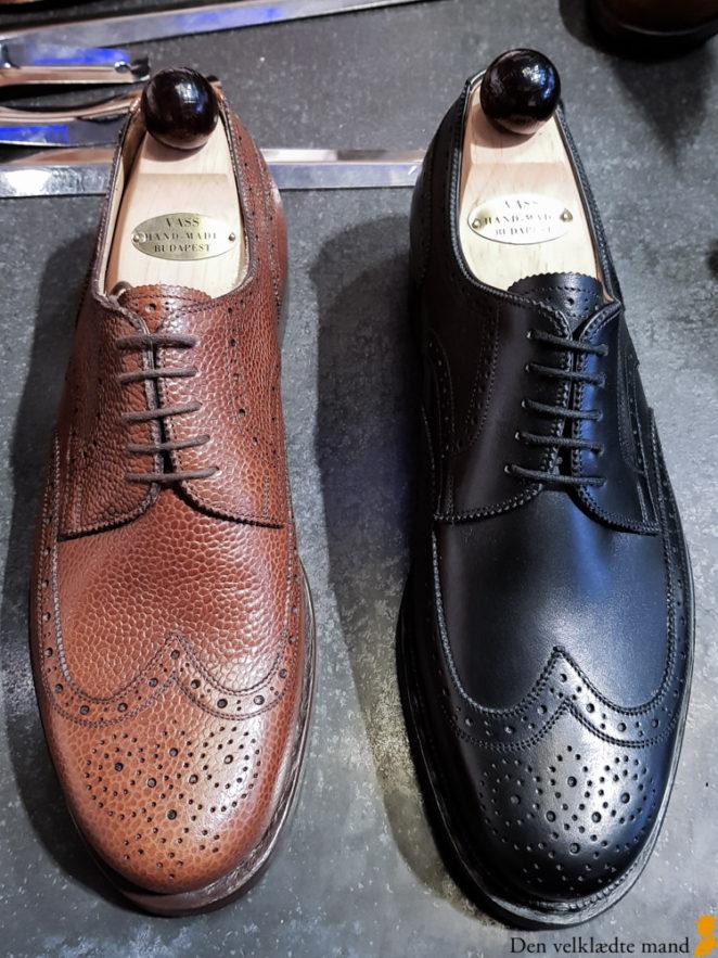 håndsyede sko i budapest vass