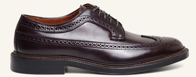 Moderne tøj til mænd cordovan sko