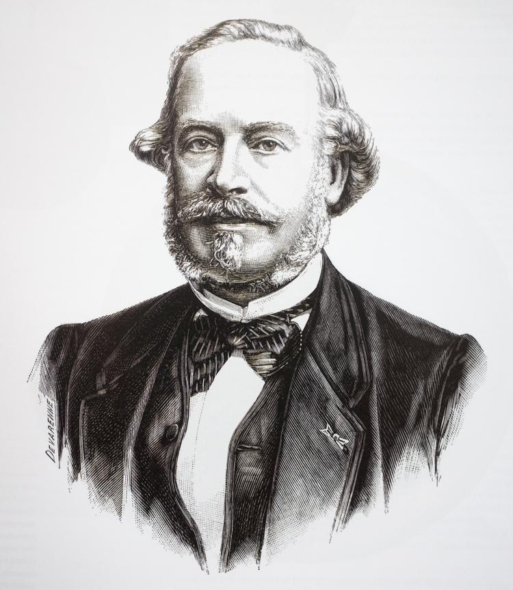 Jean Adrienne Philippe (1815_1894), medstifter af Patek Philippe
