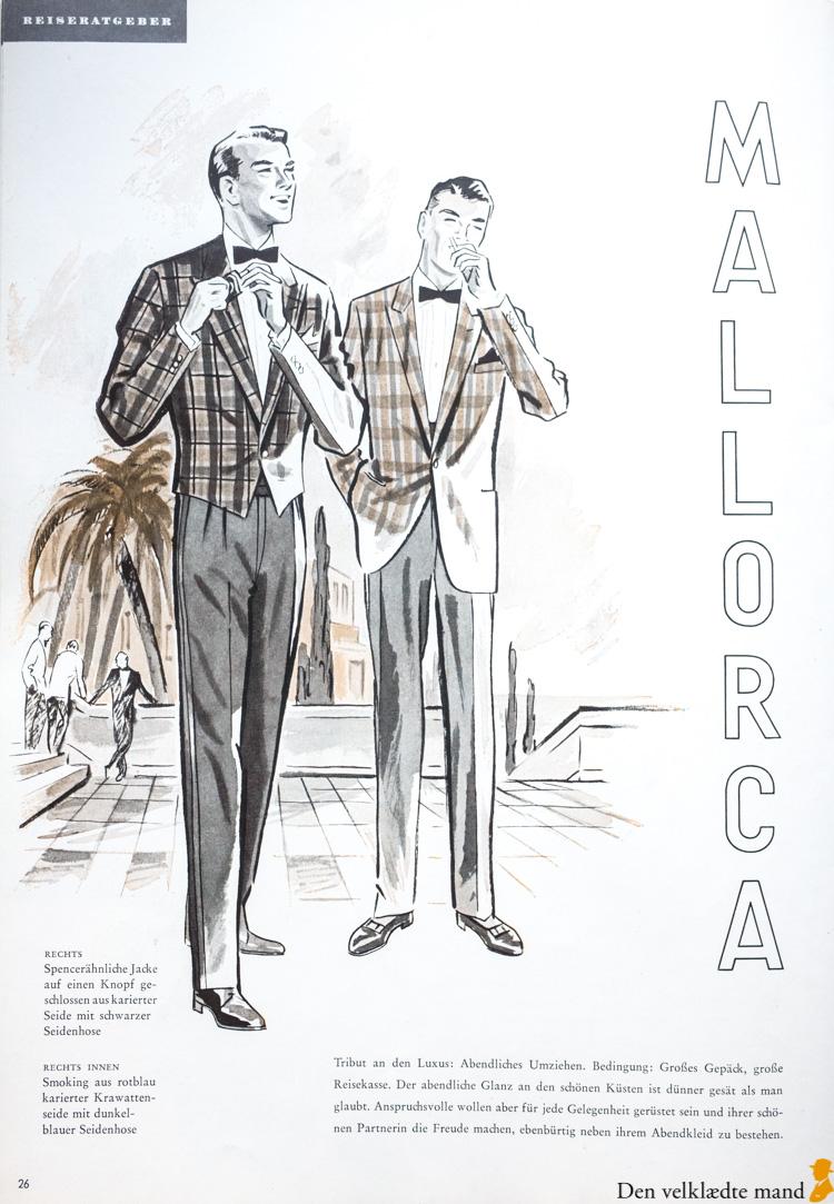 smoking-jakke i klanternet silke