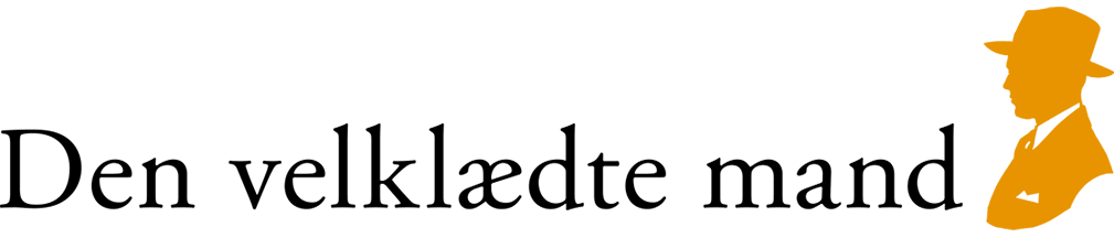 logo den velklædte mand