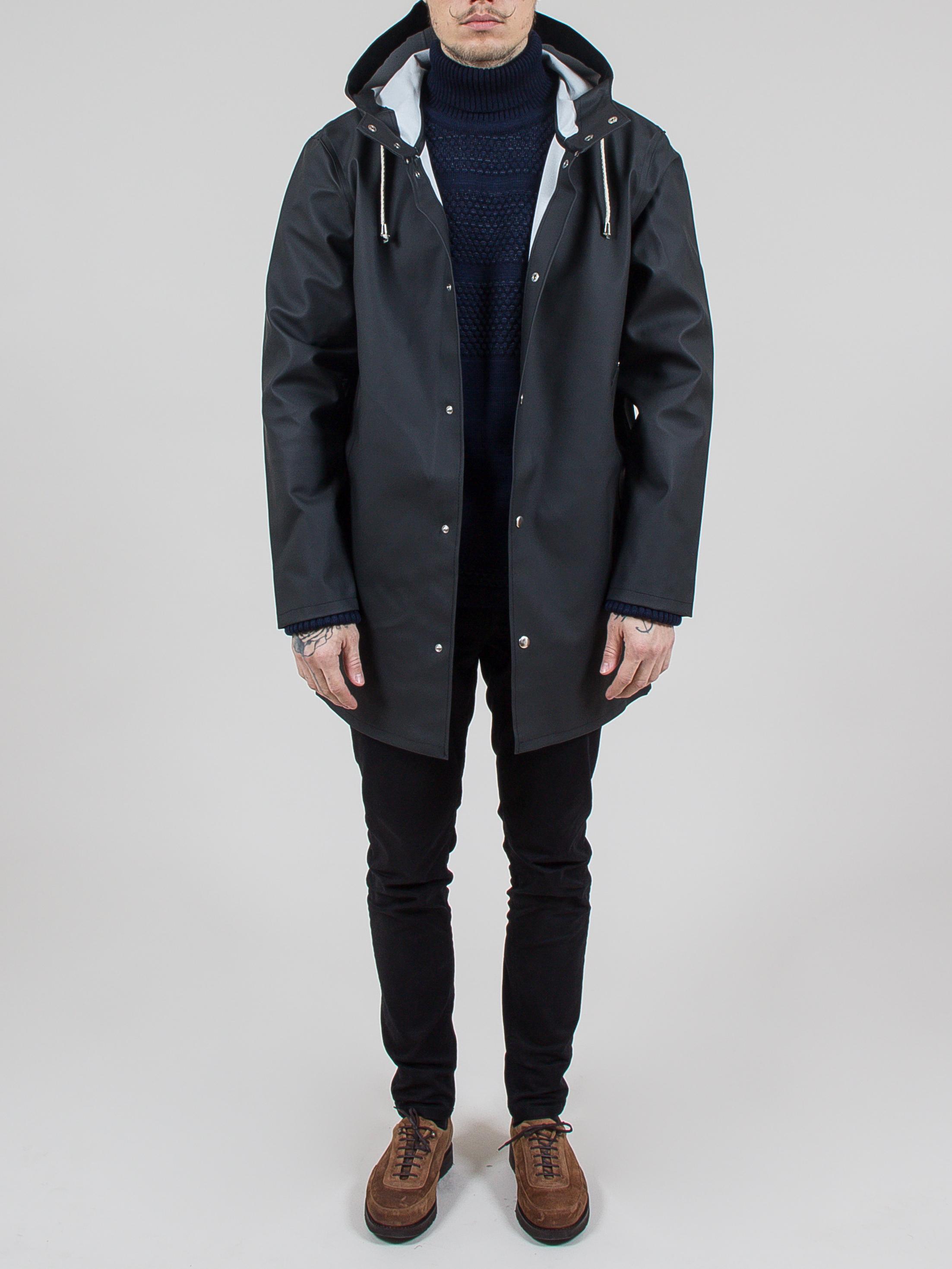 Moderne tøj til mænd regnfrakke