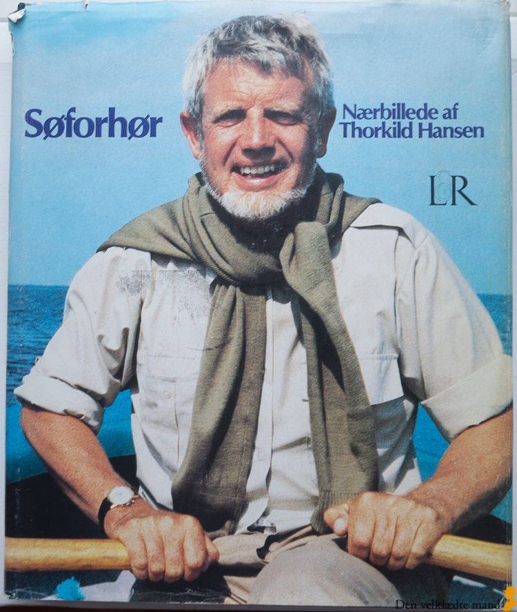 Forfatteren Thorkild Hansen et stilikon