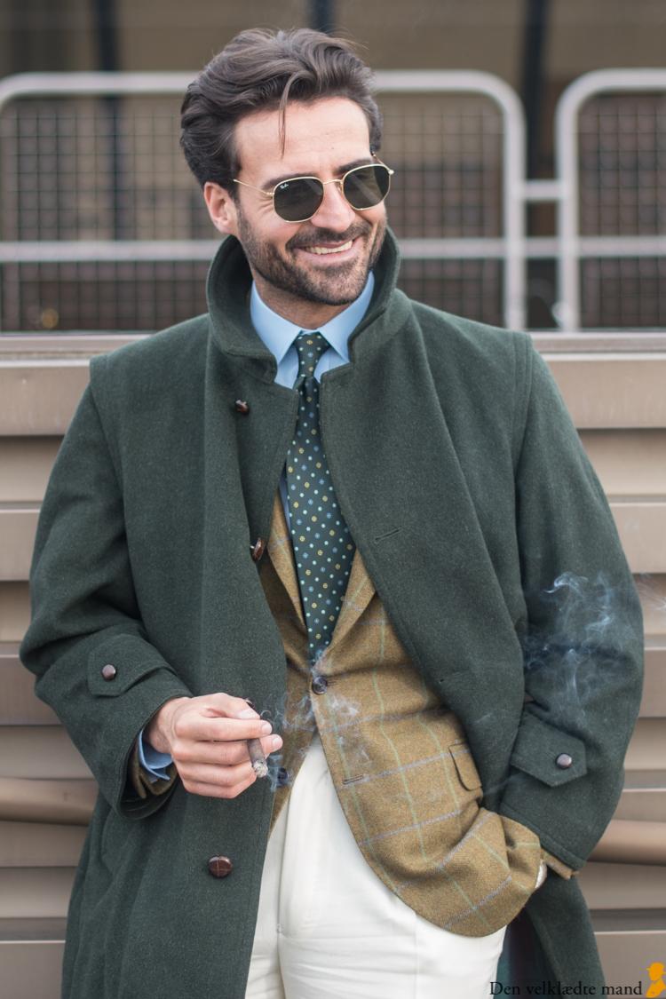 grønne frakker