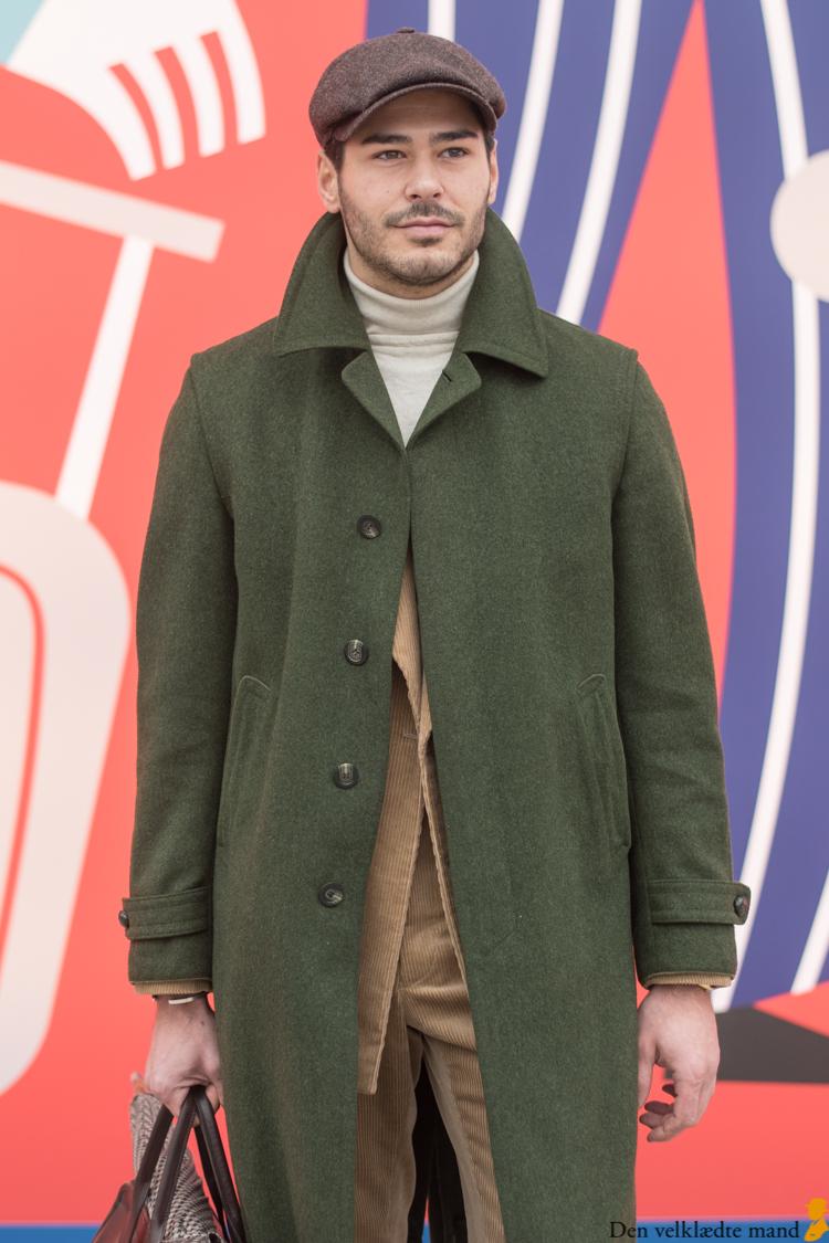 grønne frakker og lodenfrakke pitti uomo