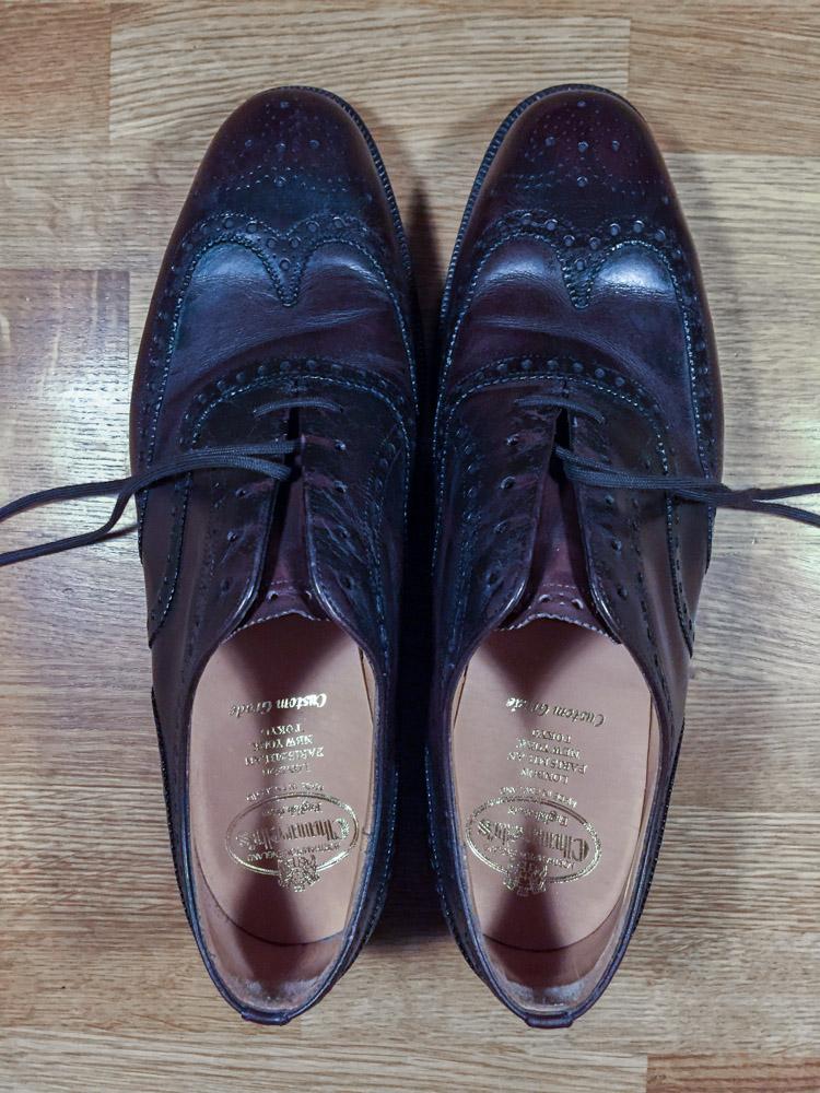 reparation af sko til mænd