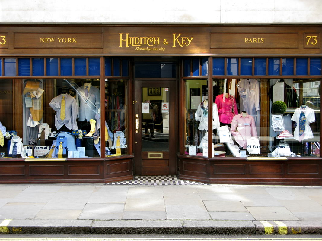 jermyn street hilditch and key