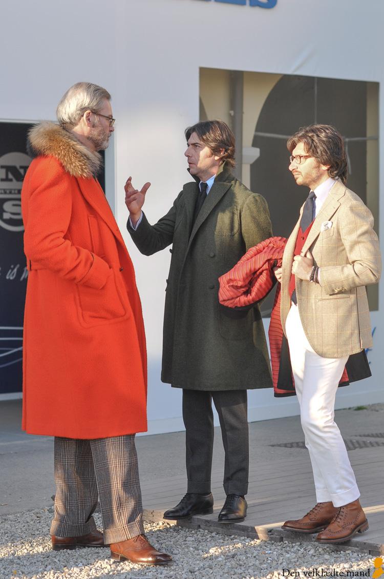 skræddersyet cansentino frakke