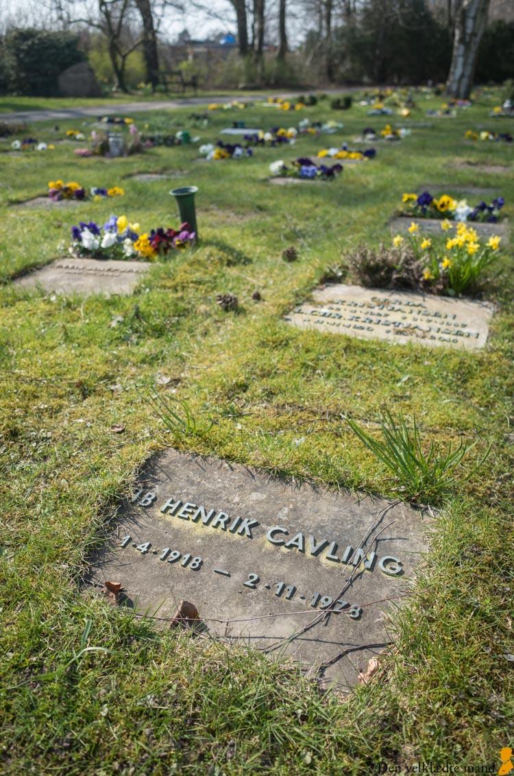 ib henrik cavling sorgenfri kirkegård