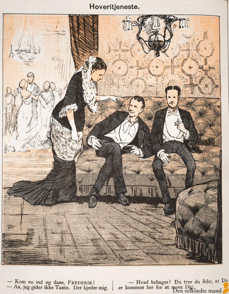 kjole og hvidt punch 1880