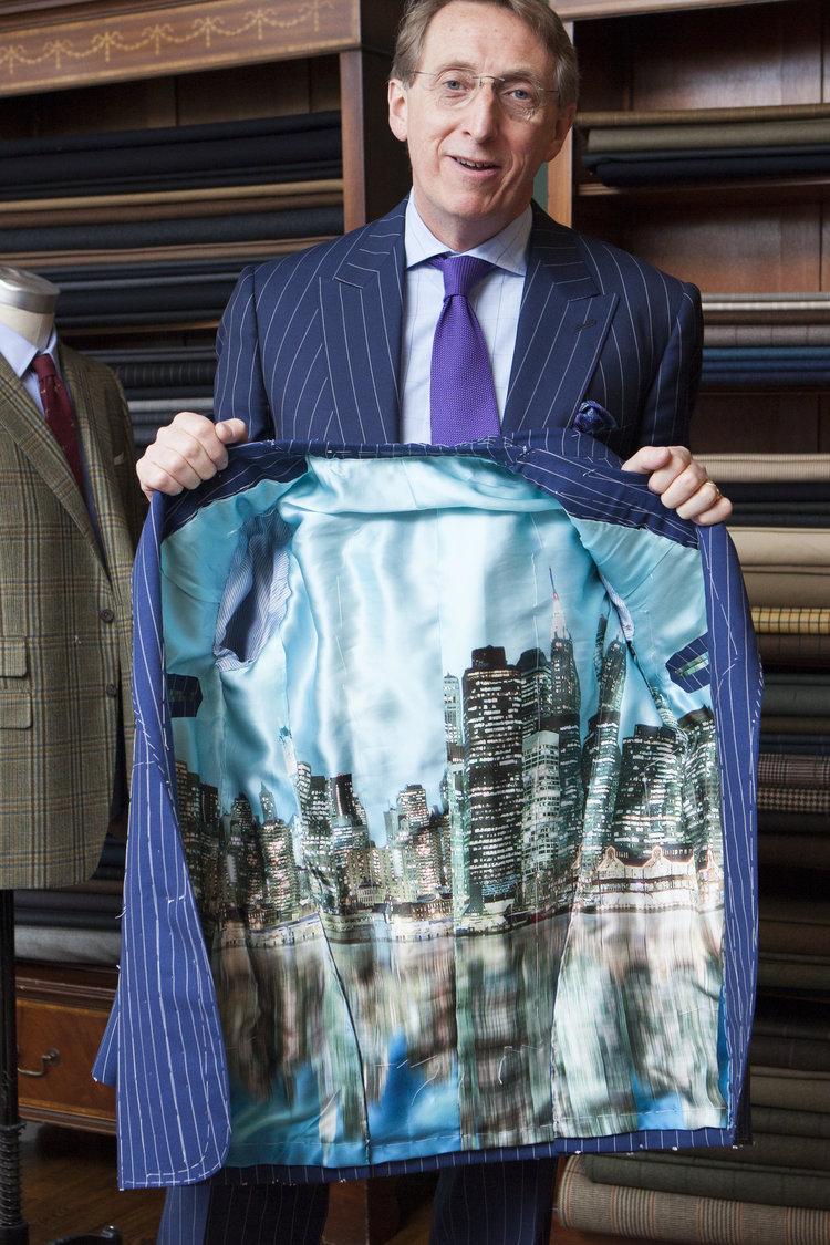 jakkefor i skræddersyet jakke