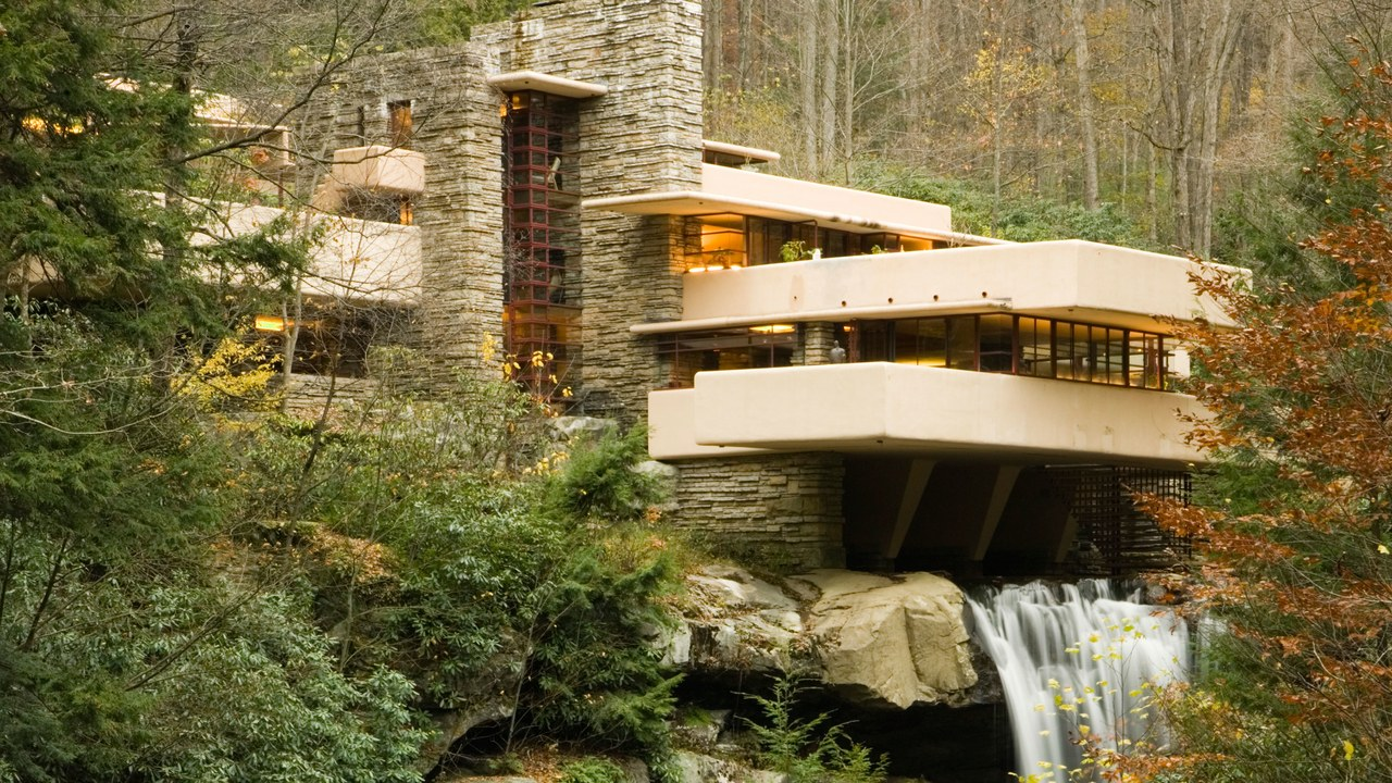 frank lloyd wright falling waters