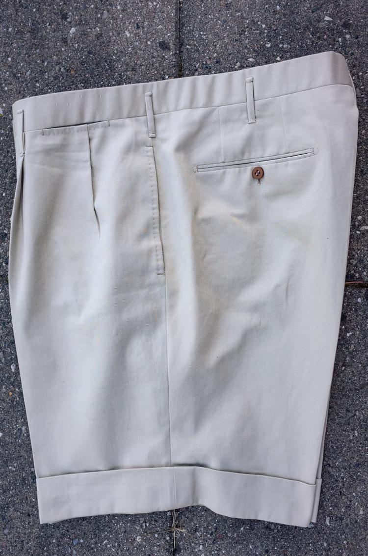 skræddersyede korte bukser