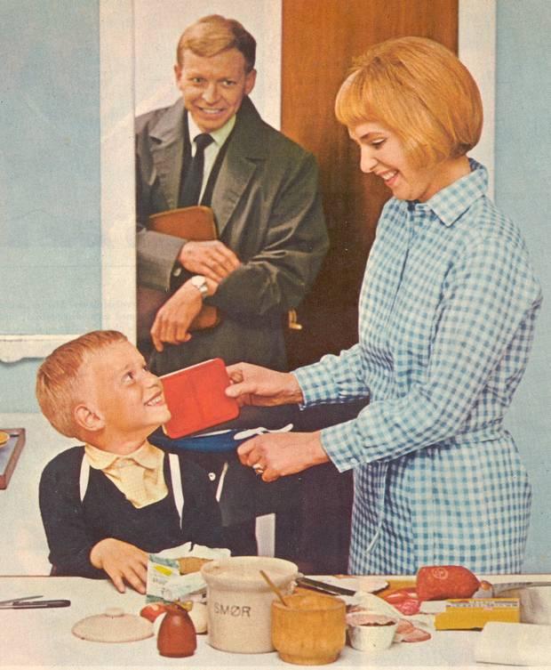 forbrug tøj og sko 1960