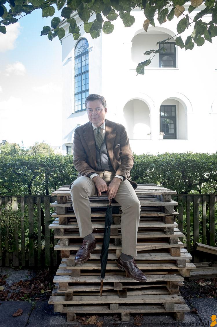 moleskin bukser og tweed herremode efterår