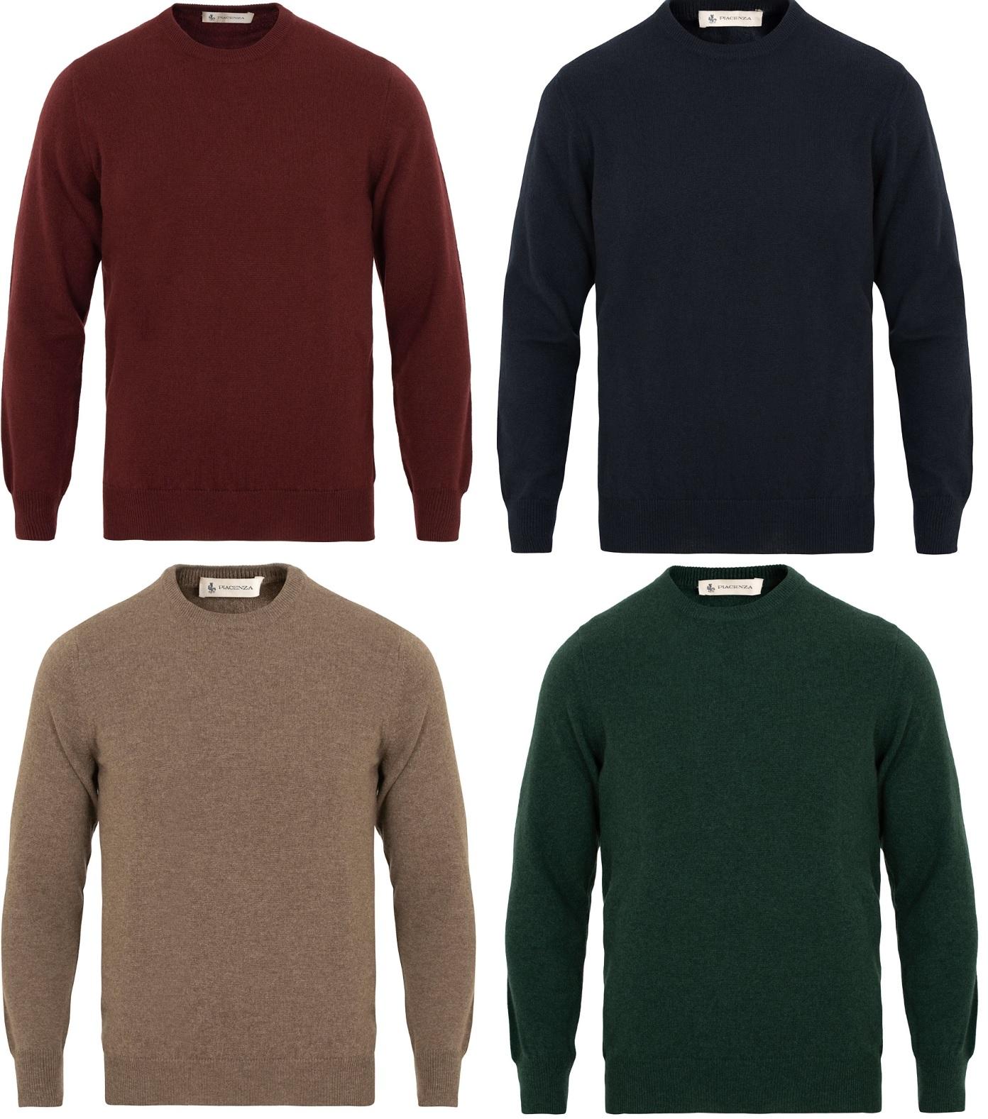 trøjer i kashmir til mænd 2019