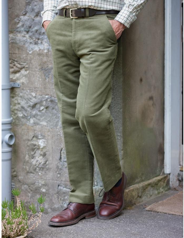 moleskin bukser grønne