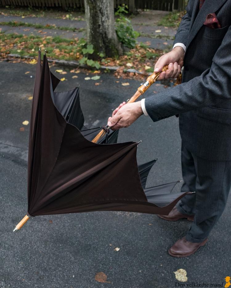 paraply til mænd