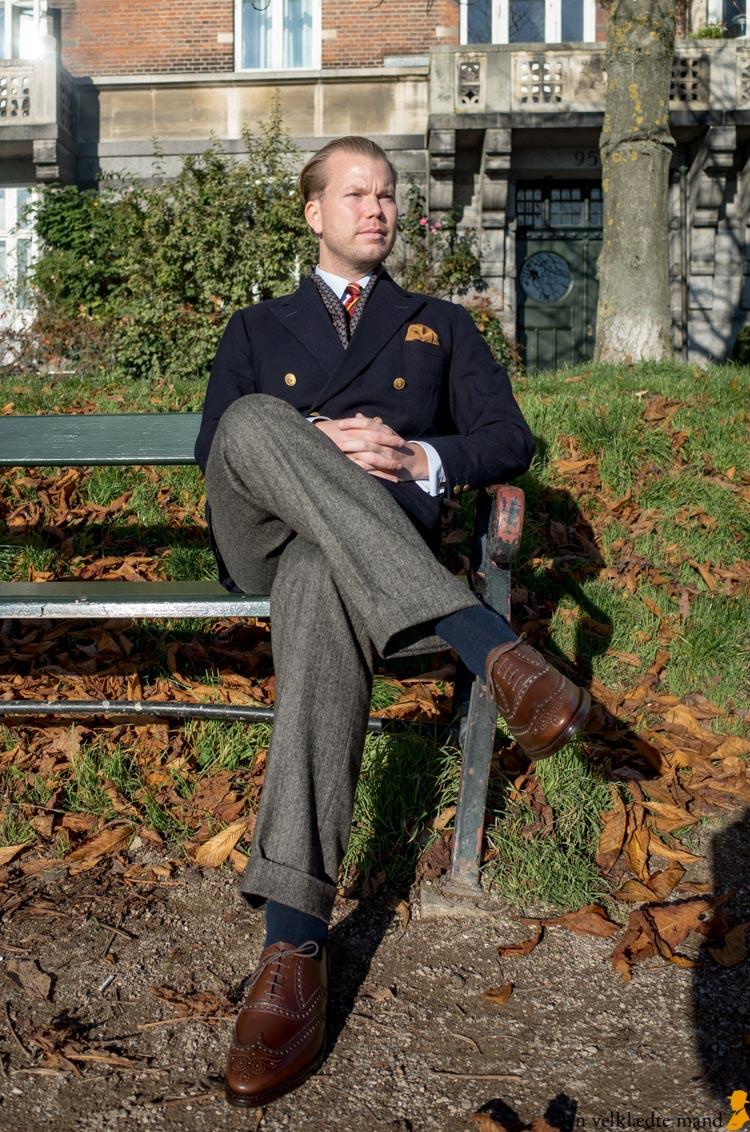 Duckfeet uformelle klassiske sko Den velklædte mand