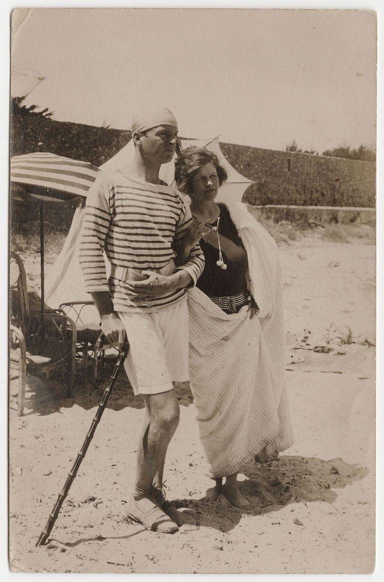 Gerald og Sara Murphy den franske riviera