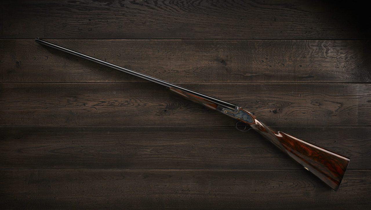 jagttøj side-by-side-gevær