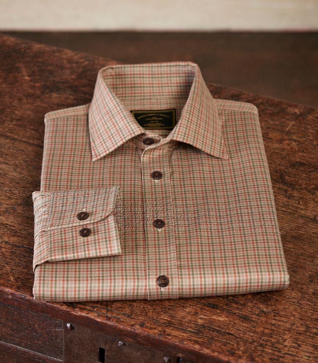 engelsk jagttøj skjorte