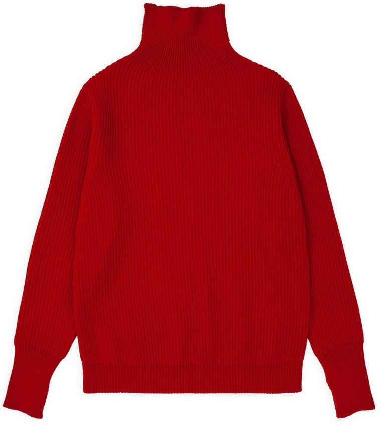rød sweater til mænd efterår 2019