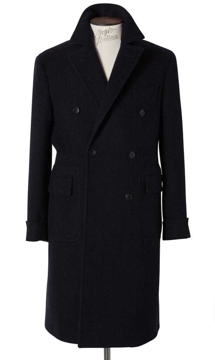 marineblå frakke til mænd vinter 2019 og 2020