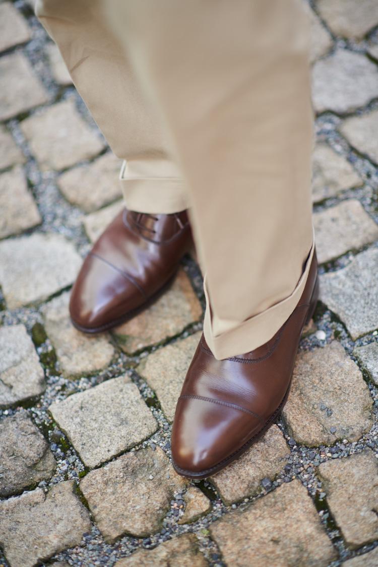 håndsyede sko