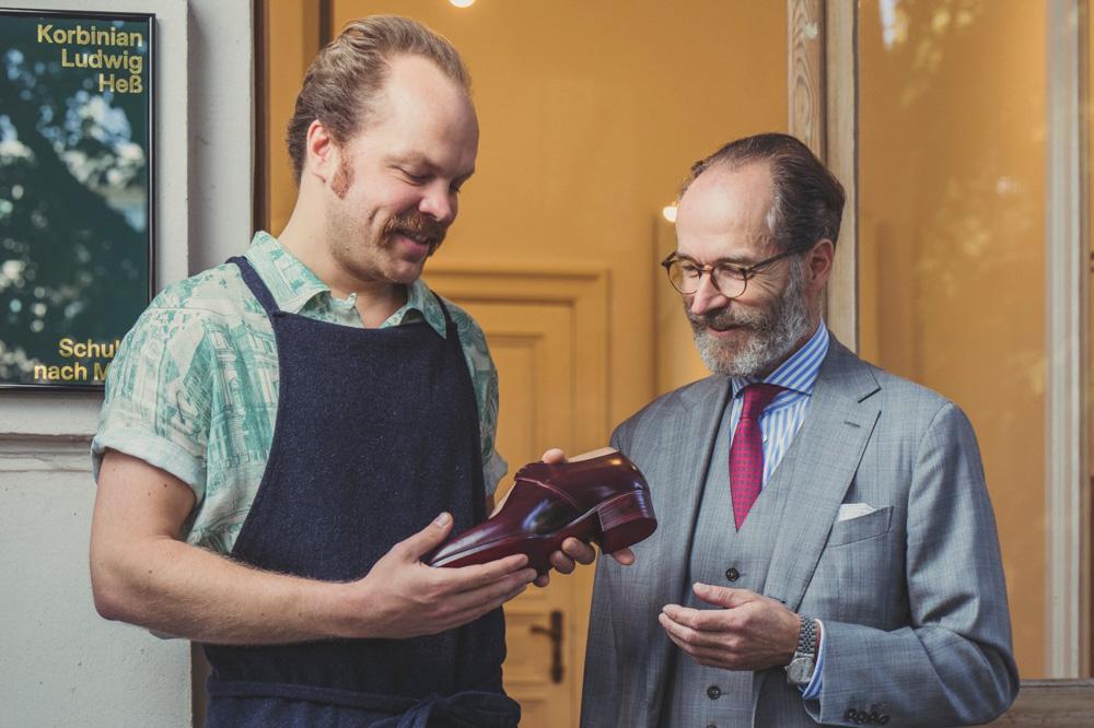 ny bog om fine sko til mænd