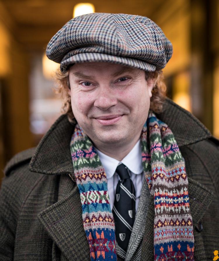 Årets velklædte mand 2019 Martin Bigum