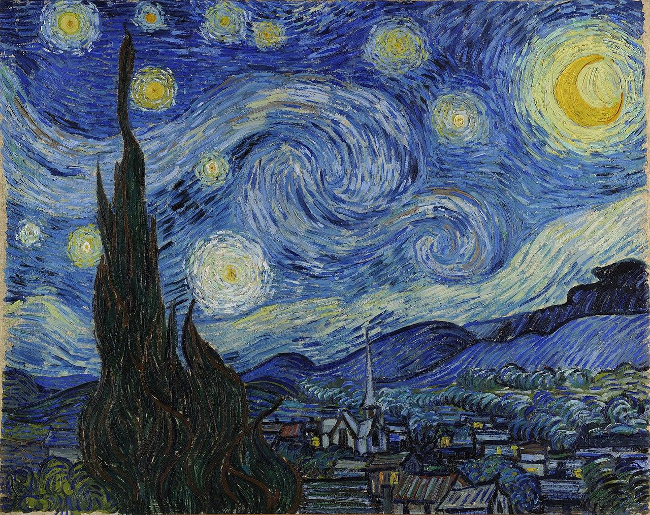 van gogh stjernenatten