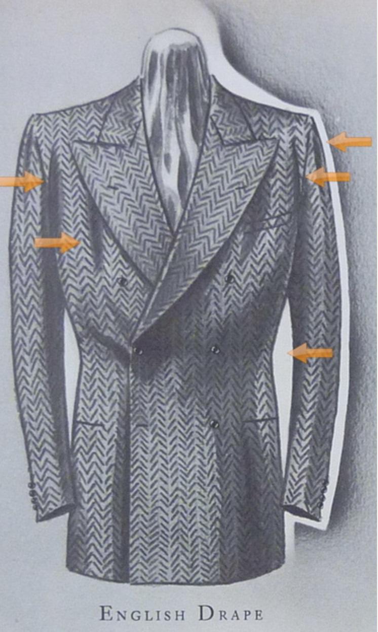 skræddersyede jakker drape