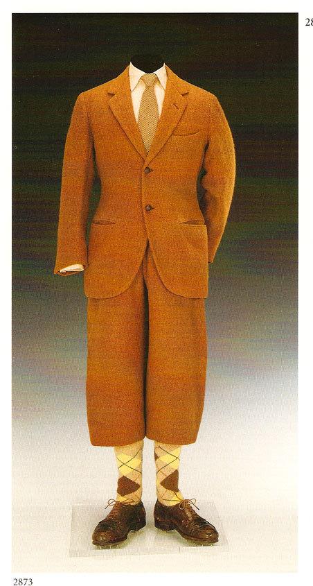 plusfours bukser prinsen af wales 1924