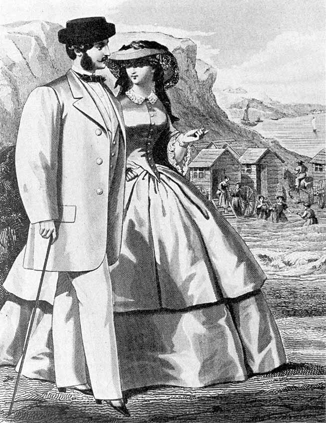 jakkesættets historie 1859
