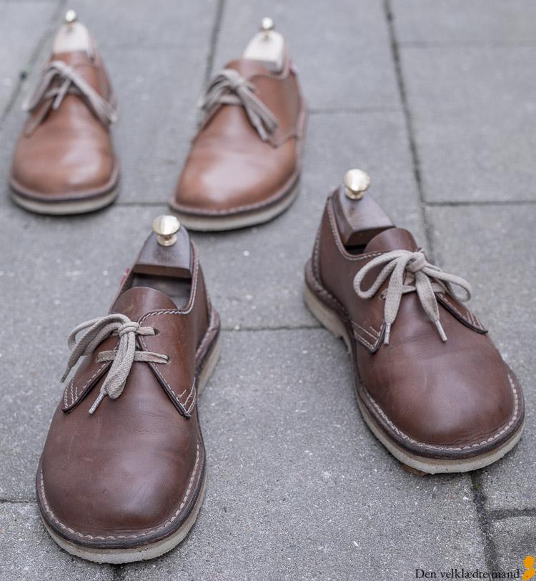 duckfeet sko nåe såler